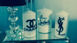 Personalised candles, that special gift or to spoil yourself Mount Druitt Blacktown Area Preview