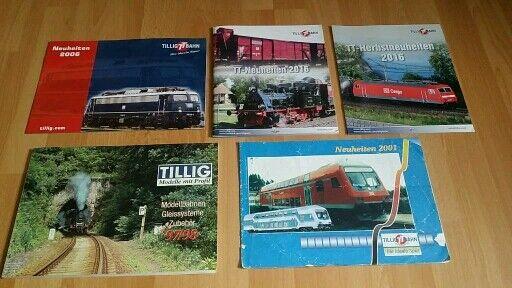 Tillig Spur TT Katalog 97/98 und div. Hefte Modelleisenbahn in Bayern - Stadtbergen