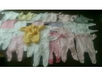 Baby girl clothes job lot