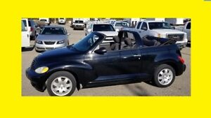 2005 PT CRUISER CONVERTIBLE LIKE NEW COMES WITH A SAFETY