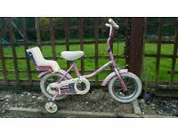 Free girls bike. 2 - 4 yrs