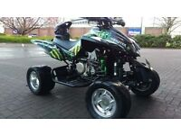 Quadzilla 450 sport road legal quad bike swap ds650 l200