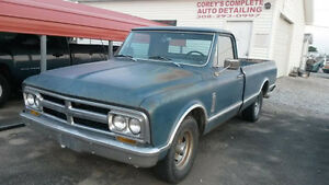 Looking For a 67-72 GMC OR CHEVY Pickup Cab and Frontclip