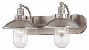 Minka Lavery 5132-84 2 Light Bathroom Vanity Light from the Downtown Edison Collection