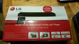 LG Bluray BP735 player 4k upscale 3d