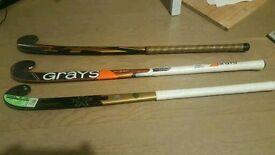 New TK and Grays Field Hockey sticks
