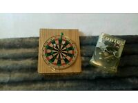 Mini darts and mini boules