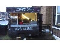 Burger van / Street food trailer