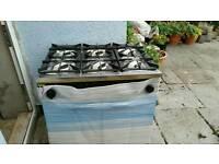 6 burner catering cooker