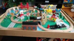 play table  for trainset and other toys