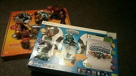 Xbox 360 Skylanders starter pack with extra portal with 9 extra figures