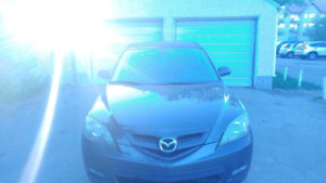 2008 Mazda 3 hatchback sport 165 000klm no issues lots of new pa