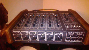 Old mixing board