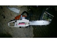 Petrol headge trimmer and chainsaw