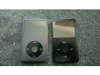 2 broken ipod classics