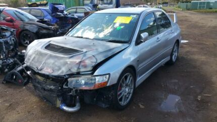 Mitsubishi Evo 9 WRECKING ALL PARTS available evolution mivec  Berkshire Park Penrith Area Preview