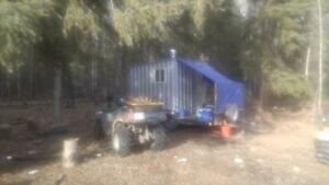Portable Hunting Camp and Toy Hauler