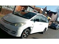 Toyota previa 8 seater for quick sale