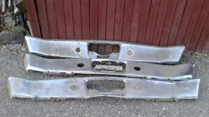 1969 Plymouth Roadrunner rear bumpers with brackets
