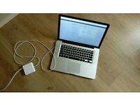 MacBook Pro 15-inch, Late 2011, Intel Core i7 2.2GHz 8GB RAM