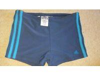 """Adidas boys swim shorts 28"""""""