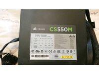 "CS550M Corsair PC Power Supply Brick ""Boxed"""