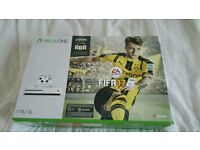 Xbox One S 1tb Unsealed with fifa 17 RRP £300
