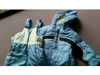 Boys winter jacket , trouser 18 months and hat