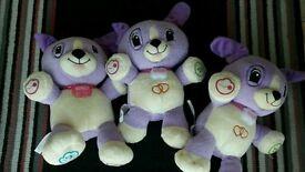 Leap Frog My Pal Violet Bears £2 Each
