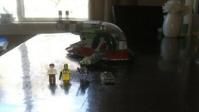 LEGO Star Wars Slave I Set 8097-100% Complete-All Mini-figures Included-No Box