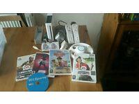 Nintendo Wii model RVL-001 + GAMES