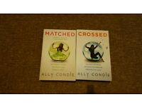 Matched and crossed book