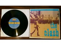 The Clash vinyl record 1980