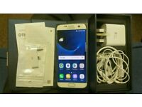 Samsung galaxy S7 Edge 32gb Pearl White EE