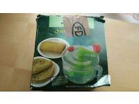 2 in 1 manual roti / chapati dough maker /salad maker