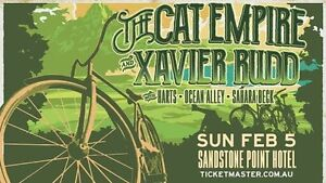 VIP tickets x 2 Xavier Rudd and Cat Empire Sandstone point hotel Caboolture Caboolture Area Preview
