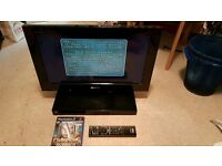 Ultra Rare Sony PS2 TV Combo