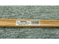 Laminate flooring scotia/ beading DARK PINE