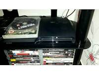 Ps3 with 24 games and 3 pads