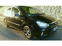 FORD C-MAX 2008 08REG 2.0 AUTO ZETEC,OUTSTANDING CONDITION!MET BLACK 89000MLS WITH FSH