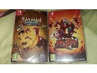 Nintendo Switch Games - Rayman Legends & Has Been Heroes
