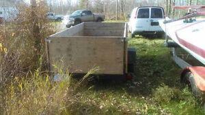 5x10 Utility trailer ready to go
