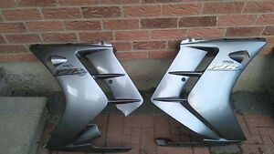 2004-2006Yamaha fjr 1300, Left and right lower fairings