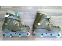 Bauer cyvility aggressive inline skates in very good condition size 6,7 uk! Can deliver or post