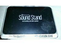 Juice Slim Sound Stand (BlueTooth Wireless Speakers - Boxed & Brand New)