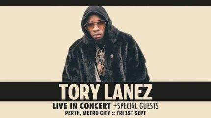 1 TORY LANEZ SOLD OUT SYDNEY SHOW ticket