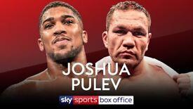 2 Tickets Anthony Joshua VS Kubrat Pulev