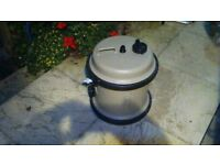 self filling water container for caravaning or camping.