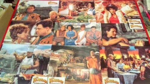 John Goodman  Rick Moranis 12 French lobby cards  THE FLINSTONES