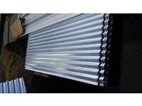 🌝 ROOFING SHEETS CORRUGATED GALVANISED ALUMINUM COATED 8ft 10ft 12ft FREE DELIVERY IN MANCHESTER